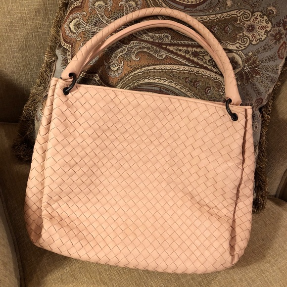 Bottega Veneta Handbags - Bottega veneta parachute bag in pale pink eb1129fdd2848